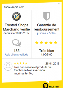 Site de confiance Trusted Shops